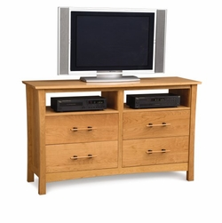 Monterey 4 Drawer Dresser and TV Organizer