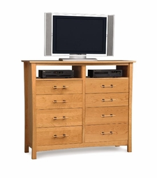 Monterey 8 Drawer Dresser and TV Organizer