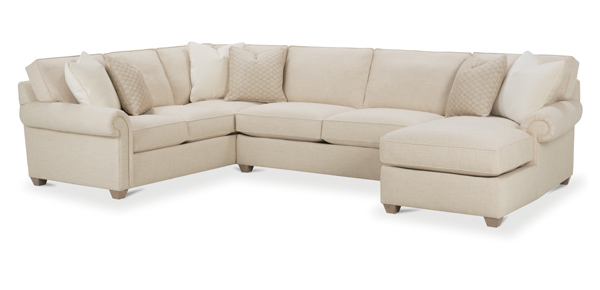 Morgan Sectional Sofa by Rowe