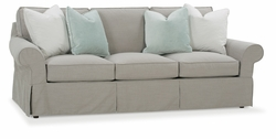 Morgan Slipcover Sofa by Rowe