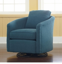 Morgan Swivel Chair by Bassett Furniture