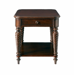 Moultrie Park End Table by Bassett