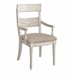 Moultrie Park Woven Back Arm Chair