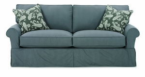 Nantucket Slipcover Sofa by Rowe