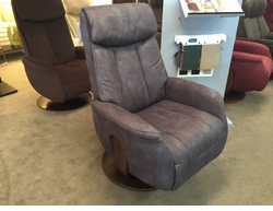 NORWEGIAN RECLINING SWIVEL CHAIR