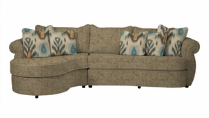 Paramour Sectional Sofa by Norwalk Furniture