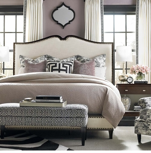 Presidio Upholstered Bed by Bassett