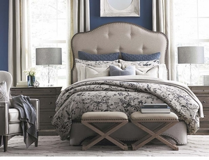 Provence Bed by Bassett Furniture