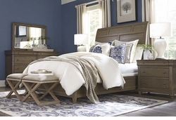 Provence Sleigh Bed by Bassett Furniture
