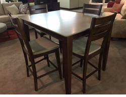 Pub Height Gathering Table Set by Bassett Furniture