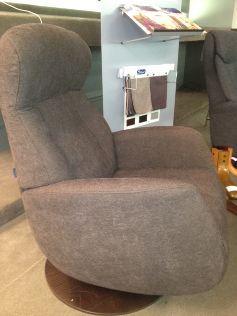 Randers Small Swivel Recliner Modern Chairs
