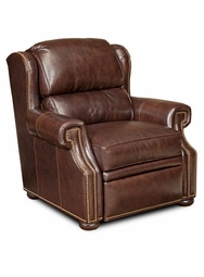 Reid Leather Recliner by Bradington-Young