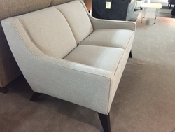 Retro Modern Loveseat