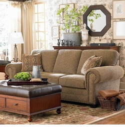 Riverton Sofa by Bassett Furniture