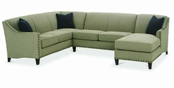 Rockford Sectional Sofa by Rowe
