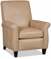 Rossi Leather Recliner by Bradington-Young