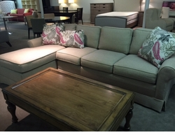 Sectional with Chaise by Norwalk Furniture