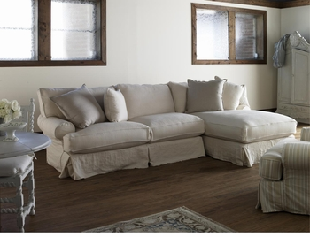 Shabby Chic Comfy Sectional