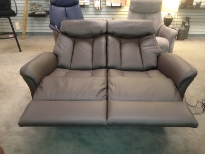 contemporary loveseat recliner 1