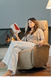 Slogen Rocker Recliner in Fabric