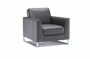 soleto leather chair by italsofa