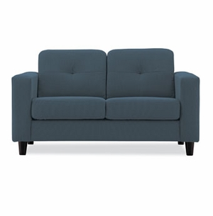 solo contemporary loveseat