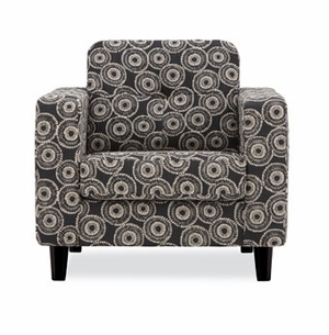 solo modern fabric chair