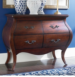 St. Tropez Bombe Chest by Bassett Furniture