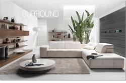 Surround Sectional Sofa by Natuzzi Italia