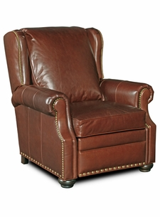 Tanner Leather Recliner by Bradington-Young