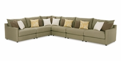 Tempo Sectional Sofa by Rowe