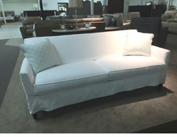 Times Square Slipcover Sofa