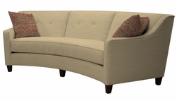 Tousley Curved Sofa by Norwalk Furniture