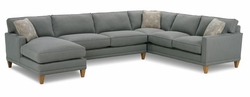 Townsend Sectional Sofa by Rowe