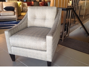 Tufted Chair by Rowe