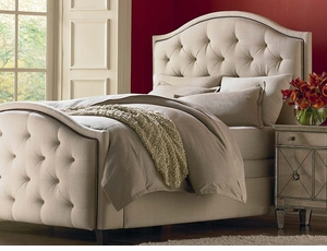 Vienna Upholstered Bed by Bassett Furniture