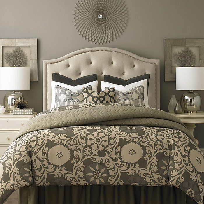 Fabric Headboard Bedroom Set. Bedroom Sets With Upholstered Headboards   Headboard Designs