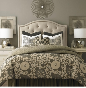Vienna Upholstered Headboard by Bassett Furniture