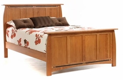Amish Vineyard Solid Cherry Bed