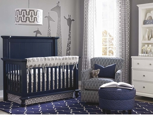 Wakefield Convertible Crib in Colors by Bassett Furniture