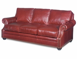Warner Leather Sofa by Bradington-Young