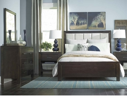 Westwood Upholstered Bed by Bassett Furniture