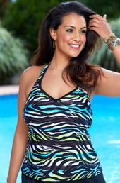 <b>Always 4 Me<br> Plus Size Swimsuits</b>