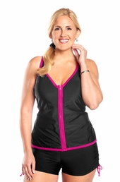 Always For Me Bay View Plus Size Swimsuit