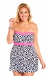 Always For Me He Loves Me Plus Size Swimdress