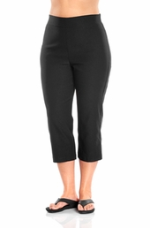 Always For Me Pull-On Capri Plus Size Pants