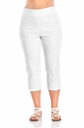 Always For Me Pull-On Capri Plus Size Pants - 7123X - $39