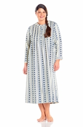 Always For Me Vintage Pintucked Plus Size Nightgown