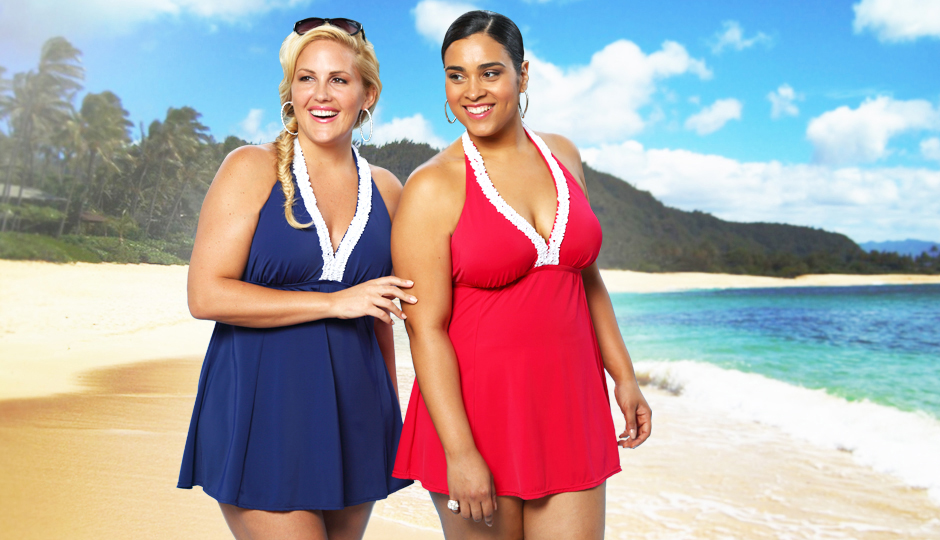 Always For Me Plus Size Swim 2014