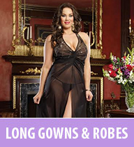 plus size lingerie - gowns
